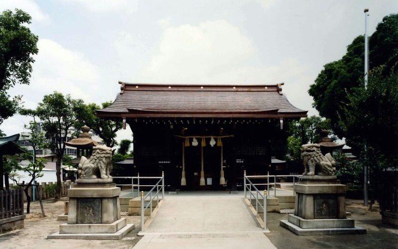 貴布禰神社(御社殿屋根修復)