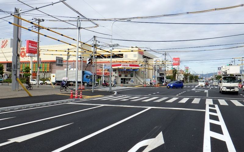 (一)高田久々知線交通安全歩道リニューアル工事(その6)